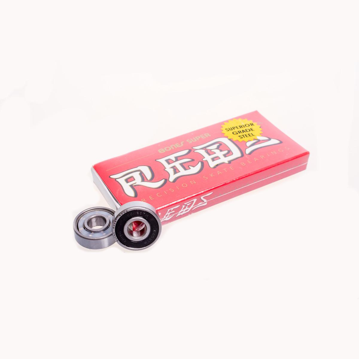 Set 8 Rodamientos BONES Super REDS