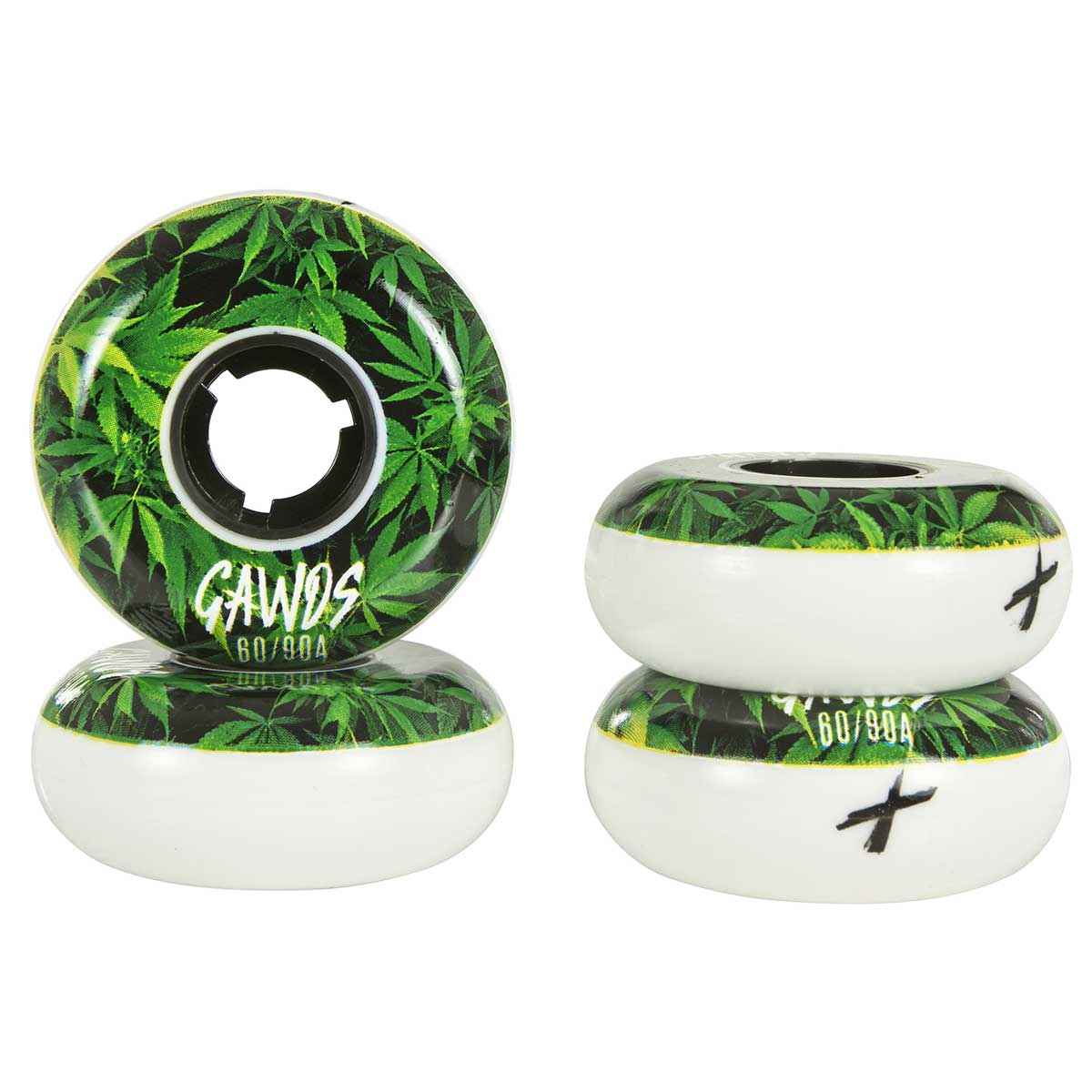 GAWDS PRO TEAM WEED 60mm/90A