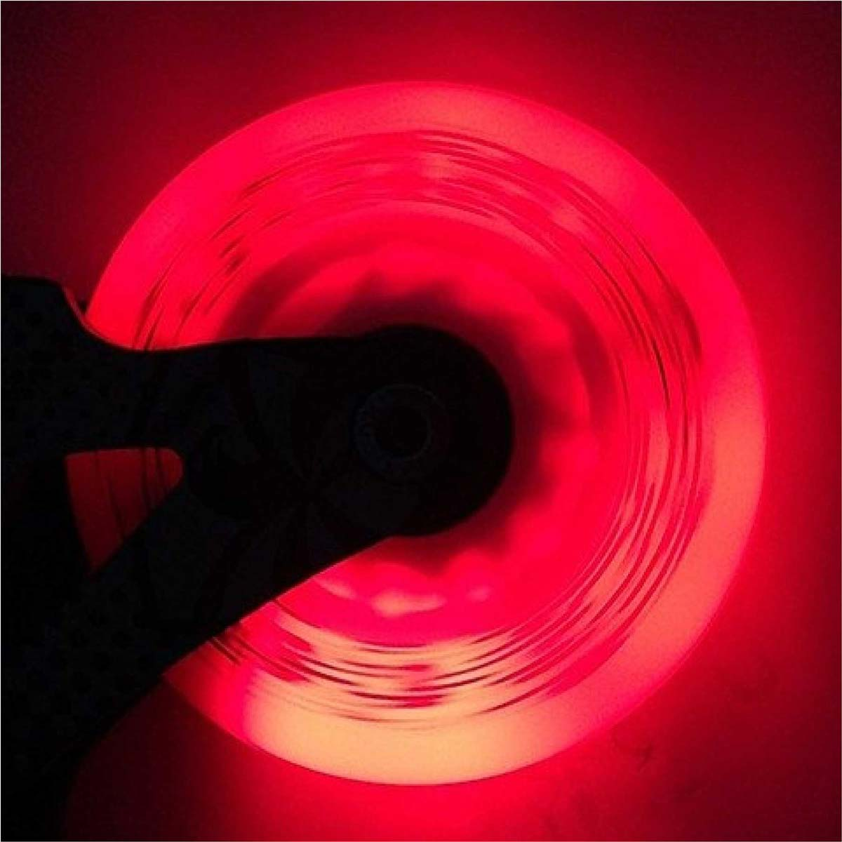 Ruedas led LazerWheelz Rojo