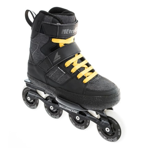 Rollerblade Metroblade Negro Antracita lateral